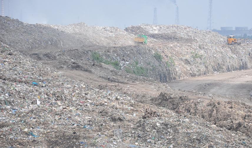 Kodungaiyur dump yard